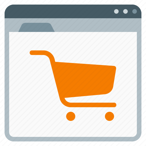 ecommerce site, ecommerce website, online store, webstore icon