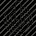 dart, goal, pencil, target icon