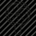 magnifier, meter, speedometer icon