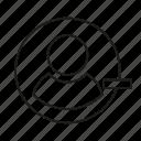 avatar, minus, people, user icon