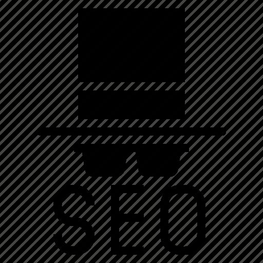 black hat, black hat seo, seo, seo business, seo consultant, seo expert icon