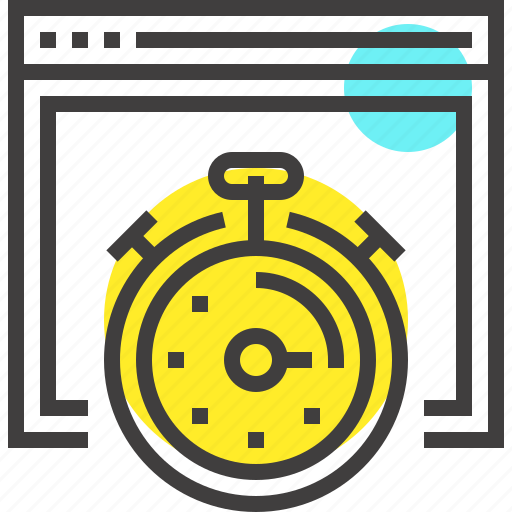 development, optimization, performance, seo, speed, stopwatch, web icon