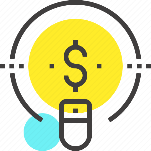 business, buy, click, pay, pay per click, ppc, seo icon