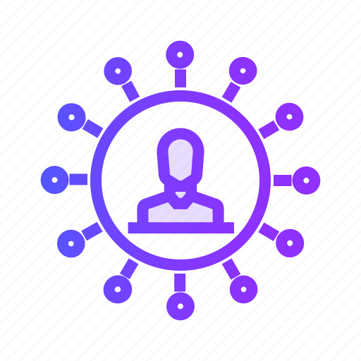 affiliate, business, finance, graph, marketing icon