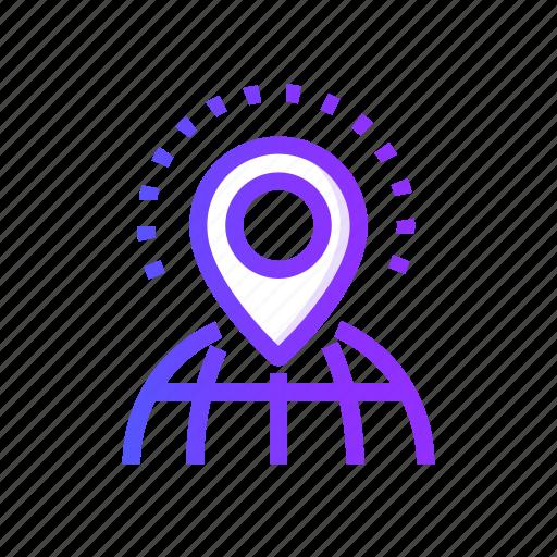 local, marketing, optimization, search, seo icon
