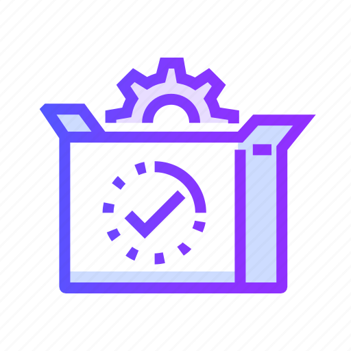 analytics, business, marketing, package, seo icon