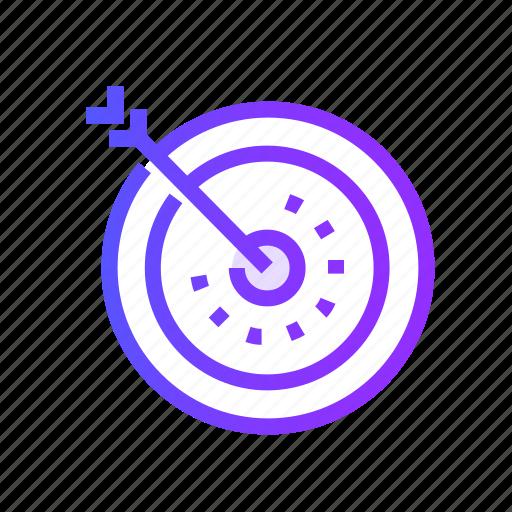 goal, marketing, seo, target, targeting icon