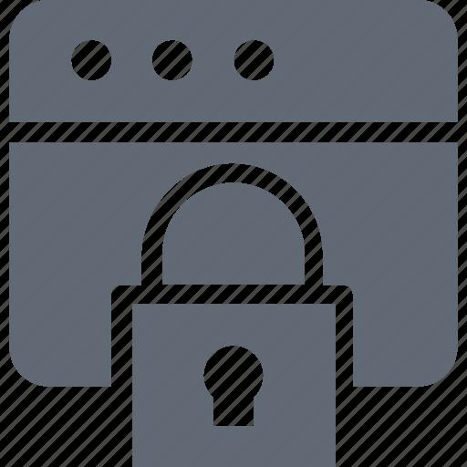 internet password, internet security, web locked, web security, website icon