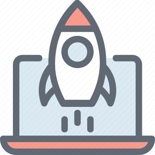 missile, rocket, seo startup, space travel, spaceship icon