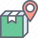online parcel, parcel, parcel tracking, shipping, web page icon