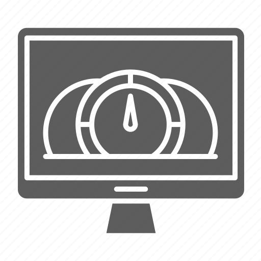 dashboard, optimization, seo, speed, web icon