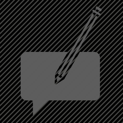 Seo, web, optimization, bubble, feedback icon
