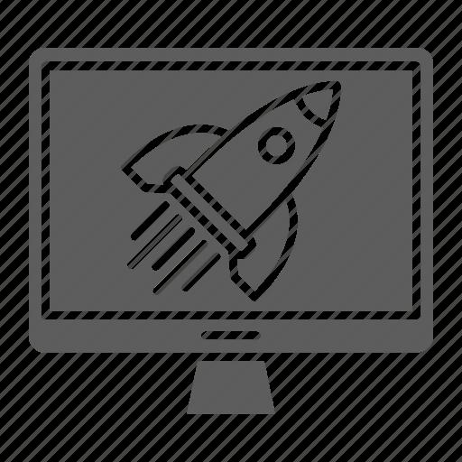 Web, growth, fast, optimization, traffic, seo icon