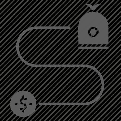 investment, optimization, return, seo, web icon