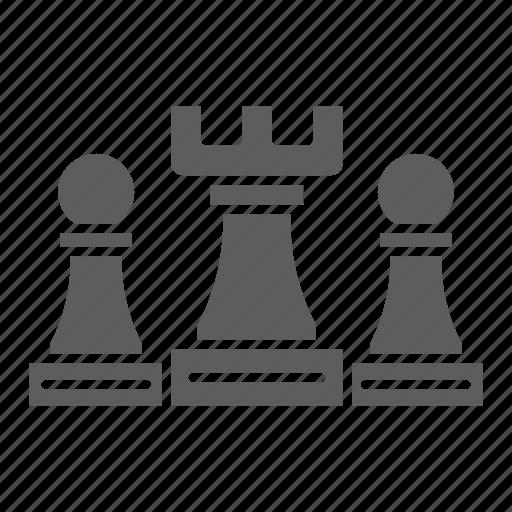 Seo, web, optimization, chess, strategy icon