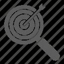goal, keyword, optimization, seo, target, web icon