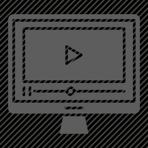 marketing, optimization, seo, tutorial, video, web icon