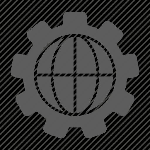 globe, optimization, seo, web icon
