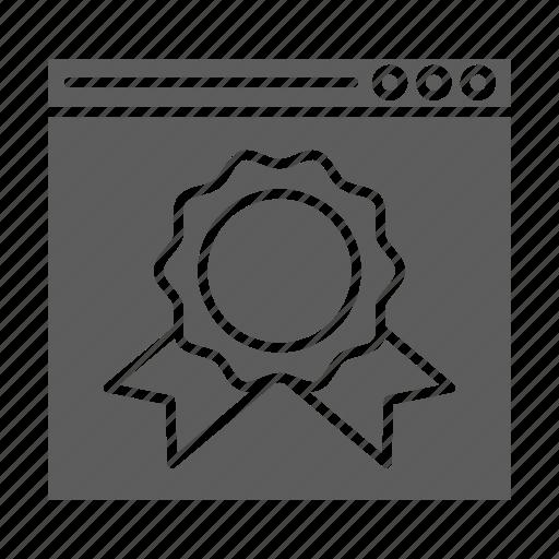 badge, optimization, ranking, seo, web, website icon