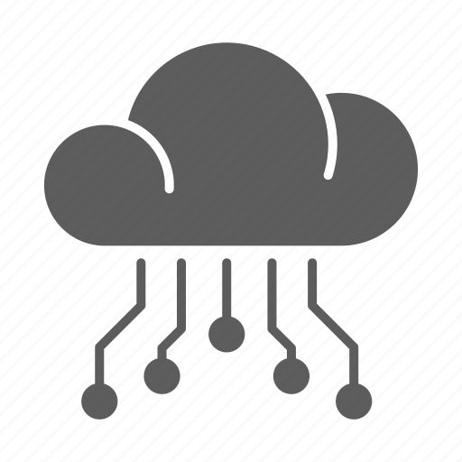 circuit, cloud, computing, optimization, seo, web icon