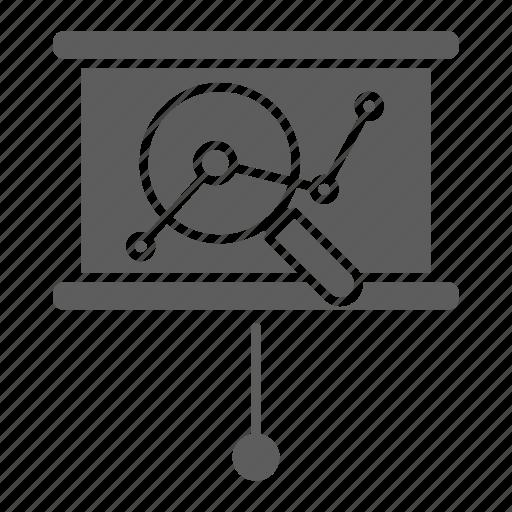 analysis, chart, competitive, optimization, seo, web icon