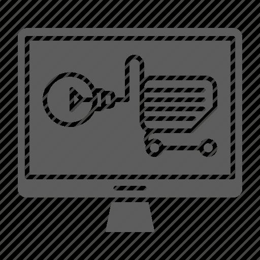 ecommerce, market, optimization, seo, solution, web icon