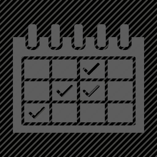 calendar, events, optimization, seo, web icon