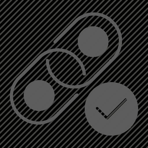 building, chain, link, optimization, seo, web icon