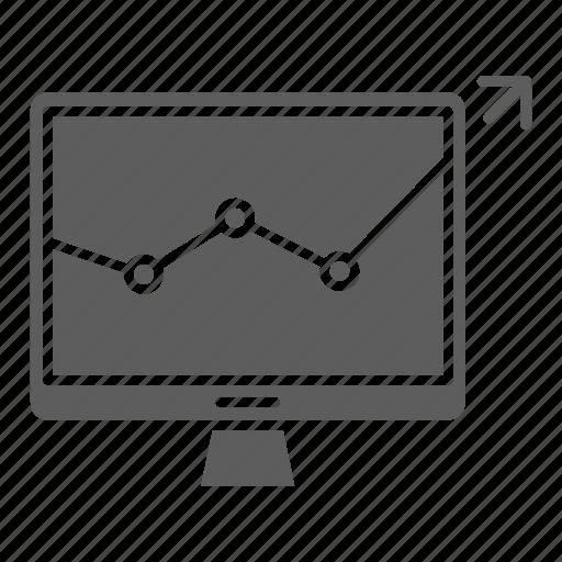 growth, monitoring, optimization, seo, web icon