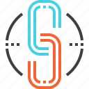 address, chain, connection, hyperlink, internet, link, web