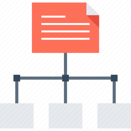 Hierarchy, map, menu, navigation, network, site, sitemap icon - Download on Iconfinder