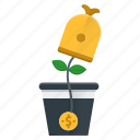business, finance, growth, investment, optimization, return icon