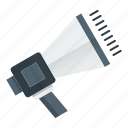 advertise, marketing, megaphone, promotion, seo, speaker icon