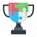 for, prize, strategy, trophy, victory, winner icon