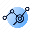 analysis, graph, planning icon