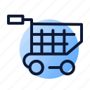 basket, ecommerce, online, shopping icon
