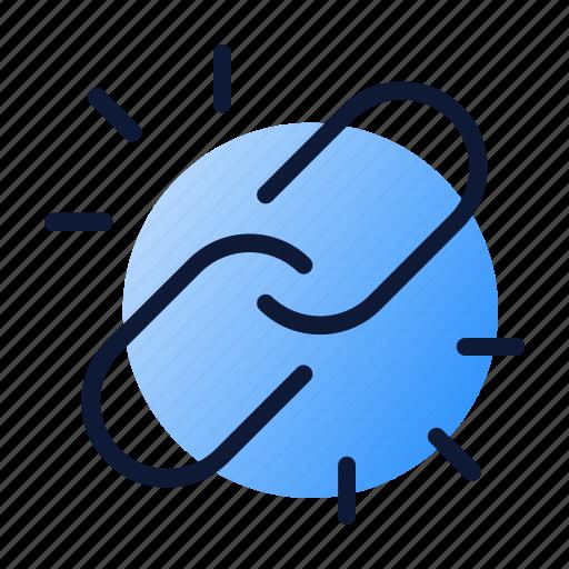 Backlink, building, link icon - Download on Iconfinder