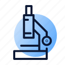 auditing, microscope, research icon