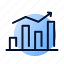 graph, optimization, ranking icon