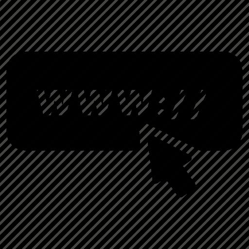 address, domain, http, internet, link, url, www icon