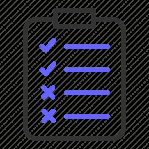 checking, checklist, report, seo icon