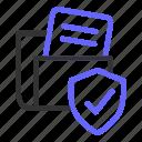 file, folder, protection, security, seo icon