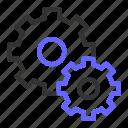 configuration, gear, optimization, seo, setting, setup icon