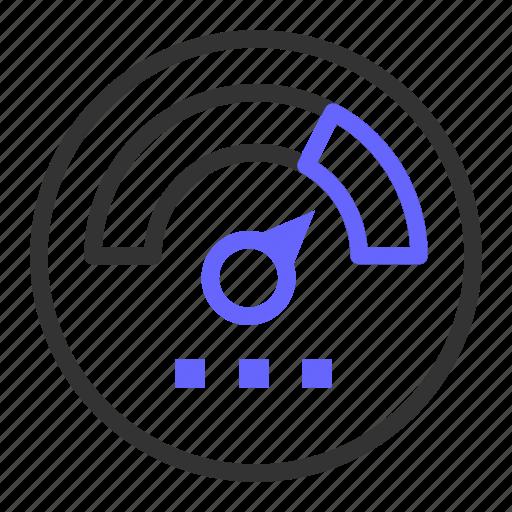 performance, seo, speed, speedometer, web icon