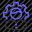 gear, person, profile, seo, setting, user icon