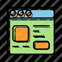 browser, internet, landing page, marketing, optimization, seo, web