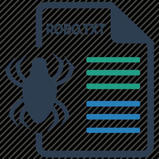 robotxt, seo icon