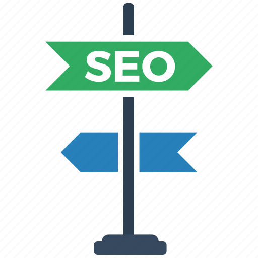 directions, seo icon