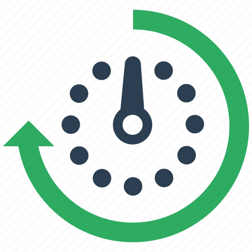 schedule, seo icon
