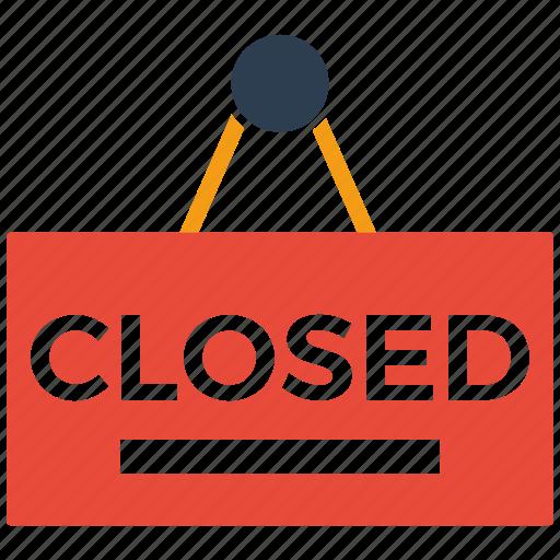 closed, seo, shopping icon